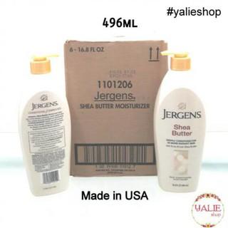 ... JERGENS SHEA BUTTER ASLI 496ML (MADE IN USA) (ASLI IMPORT). habis