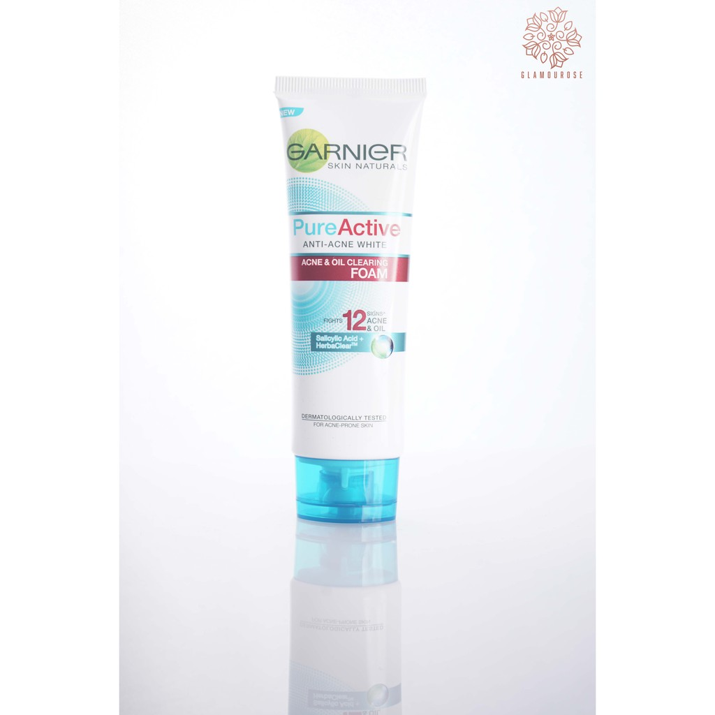 Garnier Pure Active Acne Oil Clearing Scrub 100 Ml Shopee Indonesia 100ml