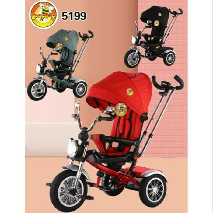 001 - Baby SEPEDA RODA TIGA TRICYCLE STROLLER ANAK PACIFIC ...