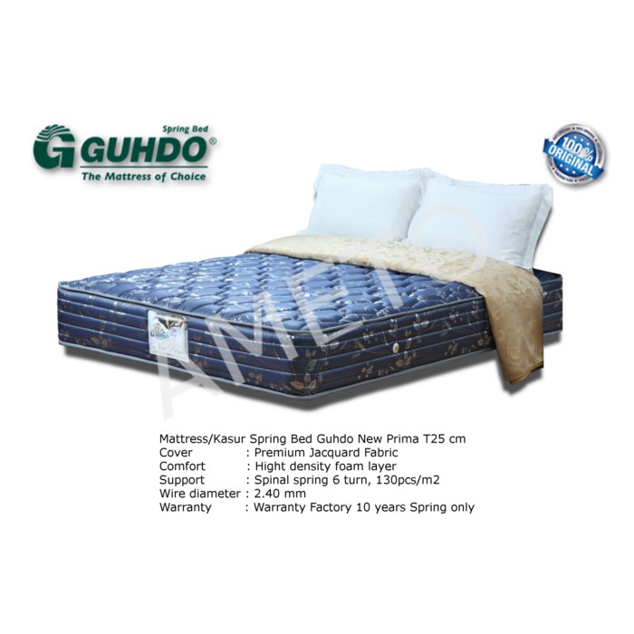 Guhdo 2in1 New Prima Biru 160 x 200 - Sorong only - Khusus Jabodetabek   Shopee Indonesia