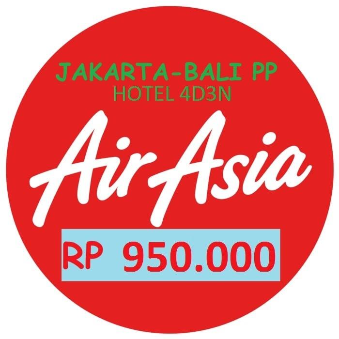 Tiket Promo Air Asia Jakarta Bali Pulang Pergi Hotel 4d3n