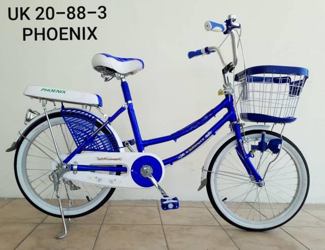 Sepeda Mini Phoenix Warna Biru - SEPEDAPUL