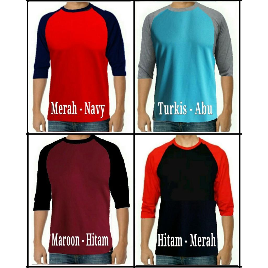 20s Kaos Polos Lengan Raglan / Reglan FIRST HAND Distro Pria Wanita Kaos Olahraga | Shopee Indonesia