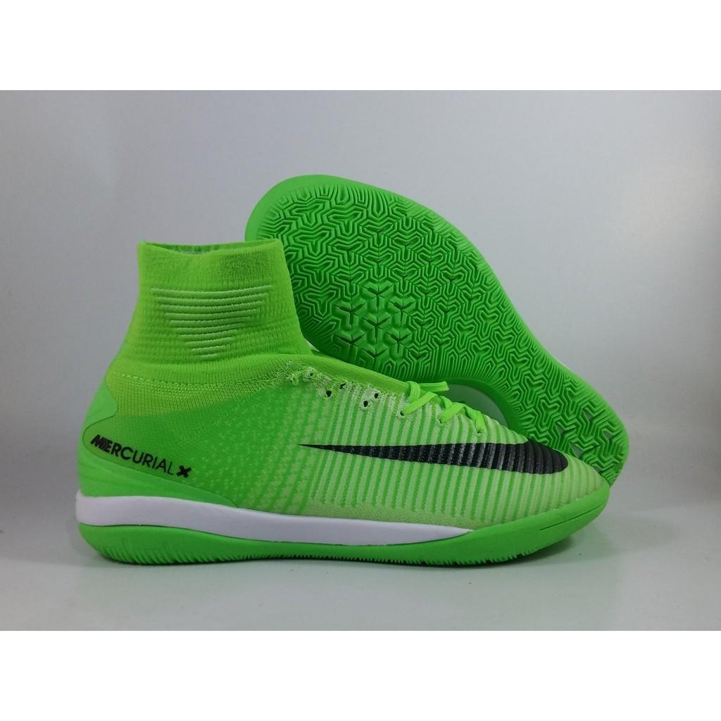 77ba9cb53d Special Promo Sepatu Futsal Nike Mercurial X PRoximo II ELectric Green IC  Replika Im