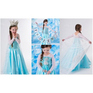 SALE MURAH - DRESS ANAK IMPORT ELSA FROZEN SAYAP BIG Baju Pesta Gaun Branded  Kostum Princess Cosplay 07e97c35fd