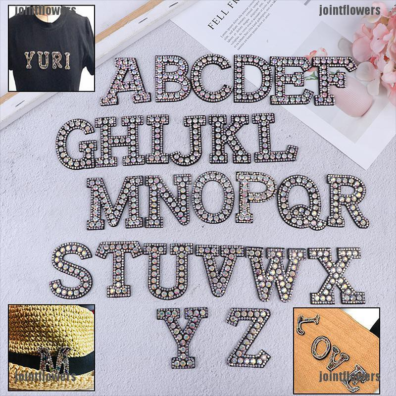 Hat Badge Rhinestone Patch Iron-on Patches Clothing Stickers Garment Applique