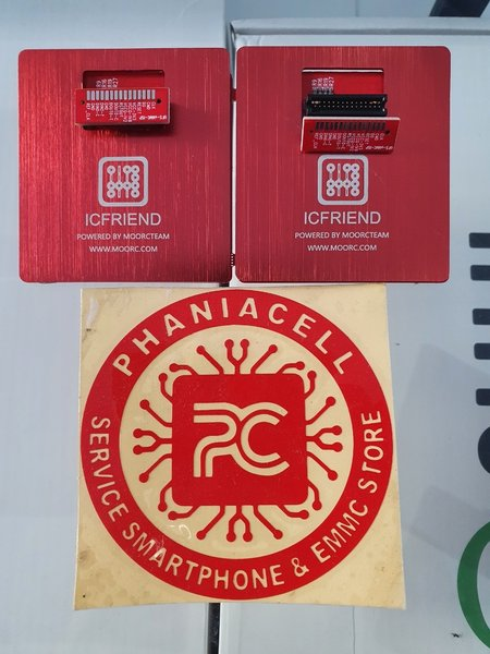 CONVERTER A4 ICFRIEND UFS-EMMC FREE ISP BUAT MEDUSA PRO II