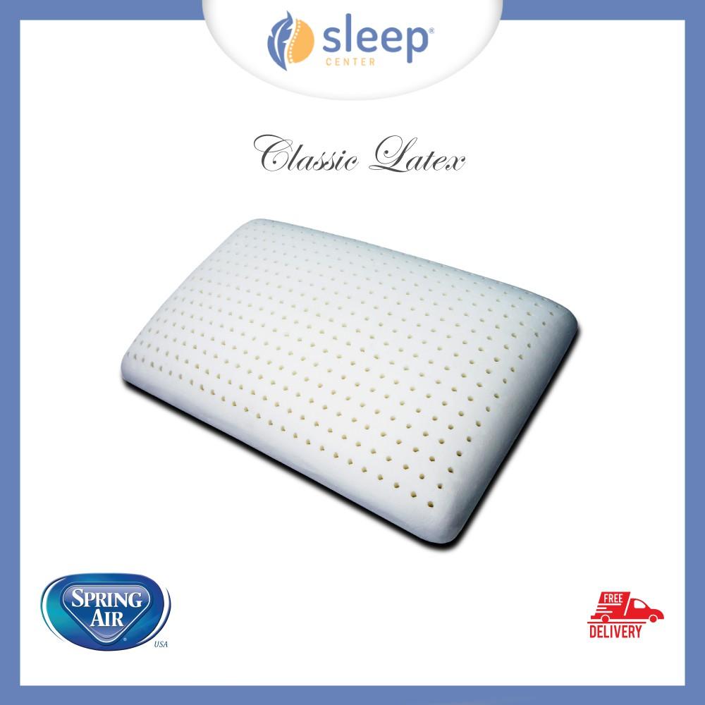 Home Living Spring Air Daftar Harga Desember Maxtron Mg 361 Ello Handphone Sleep Center Classic Latex Pillow