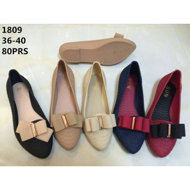Jelly shoes sepatu WANITA TALI DD - 789 - 1  7495f49cb5