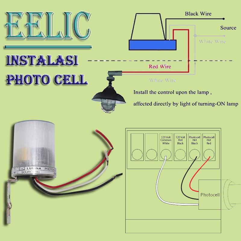 Eelic Fcl 2203a Foto Cell Lumina 220v 3a Saklar Otomatis Sensor Cahaya Shopee Indonesia