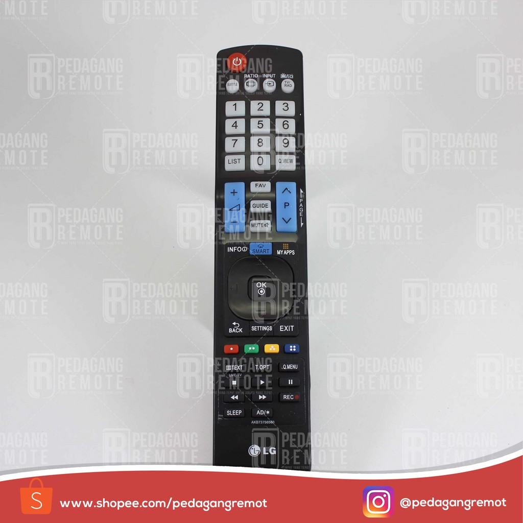 Remot/Remote TV LCD/LED LG Smart Plasma AKB73756560 KW