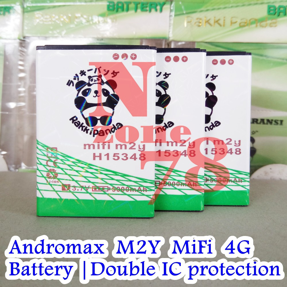 Battery Modem Wifi Mifi Smartfren Andromax M3y M3z Baterai Batre Log On M3s Shopee Indonesia