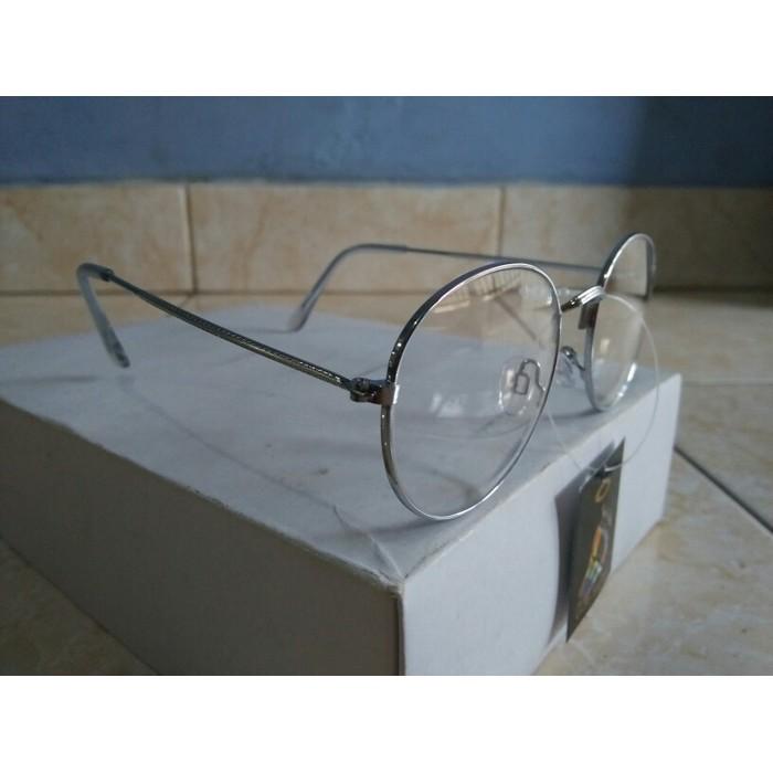 Kacamata Gaya Kacamata Bulat Oval Putih Fashion Trendy Dan Gaya Ye903  6c88280420