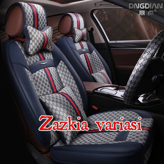 Sarung Jok Mobil Channel 18 in 1 Mobil Bantal Mobil 18in1 Chanel (2 Baris) | Shopee Indonesia