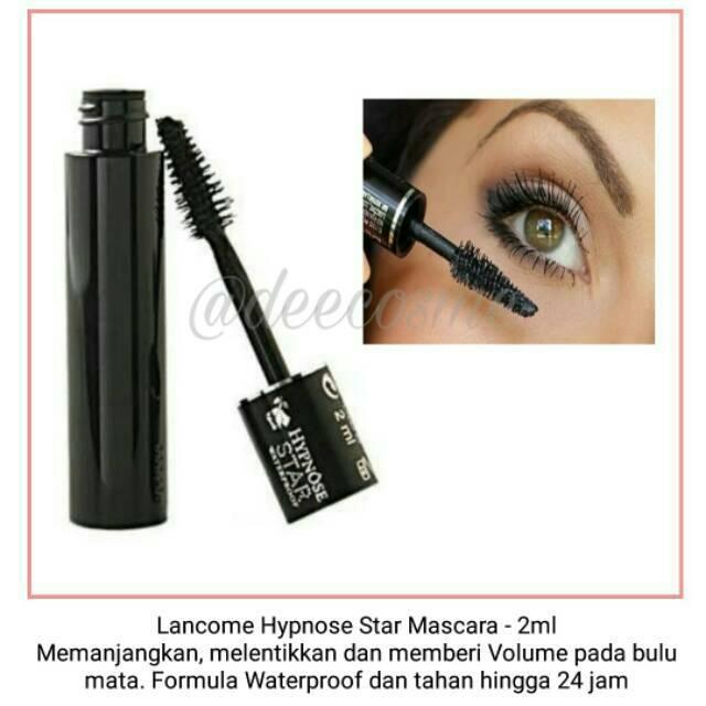 21fb4f93e9c Lancome Hypnose Star Waterproof Mascara 2ml ORI   Shopee Indonesia