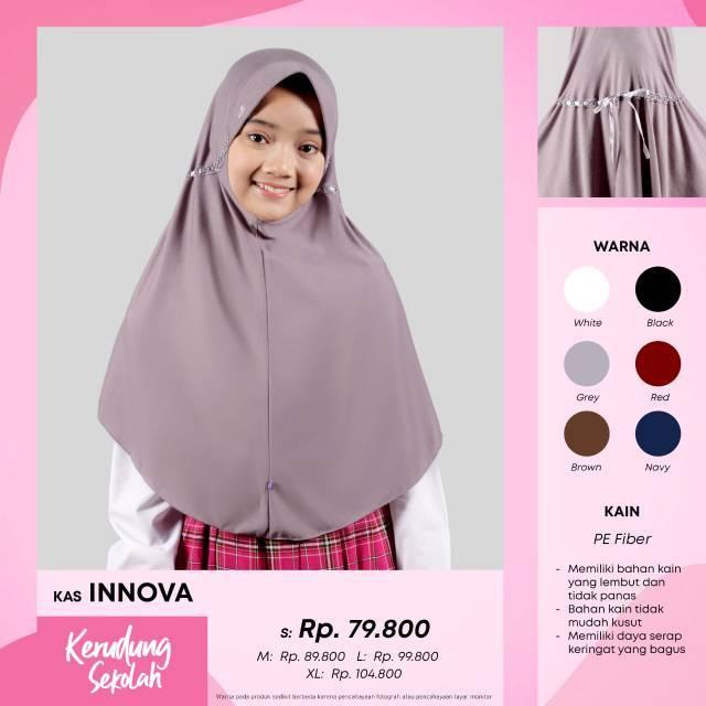 Kerudung Sekolah Rabbani Innova Size S Dan M Shopee Indonesia