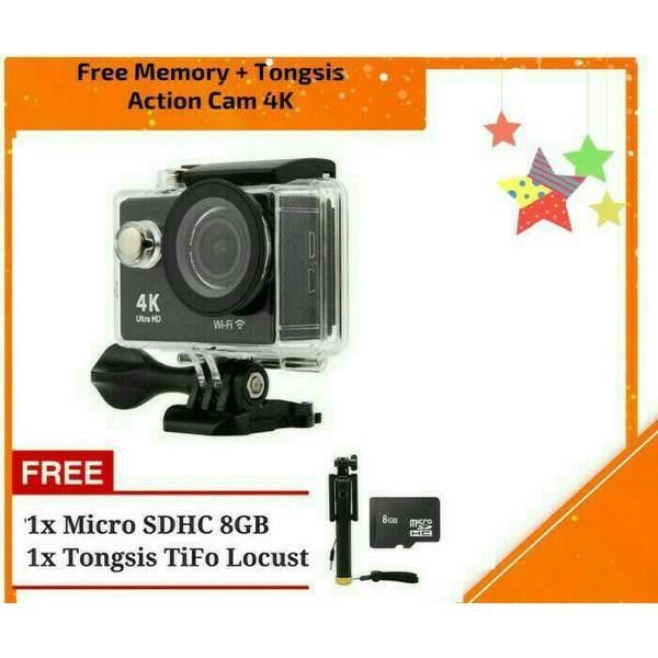 UNIX Monopod Selfie Stick Tongsis GoPro SJCAM Xiaomi YI Brica BPro Kogan Action Cam DSLR Smartphone | Shopee Indonesia