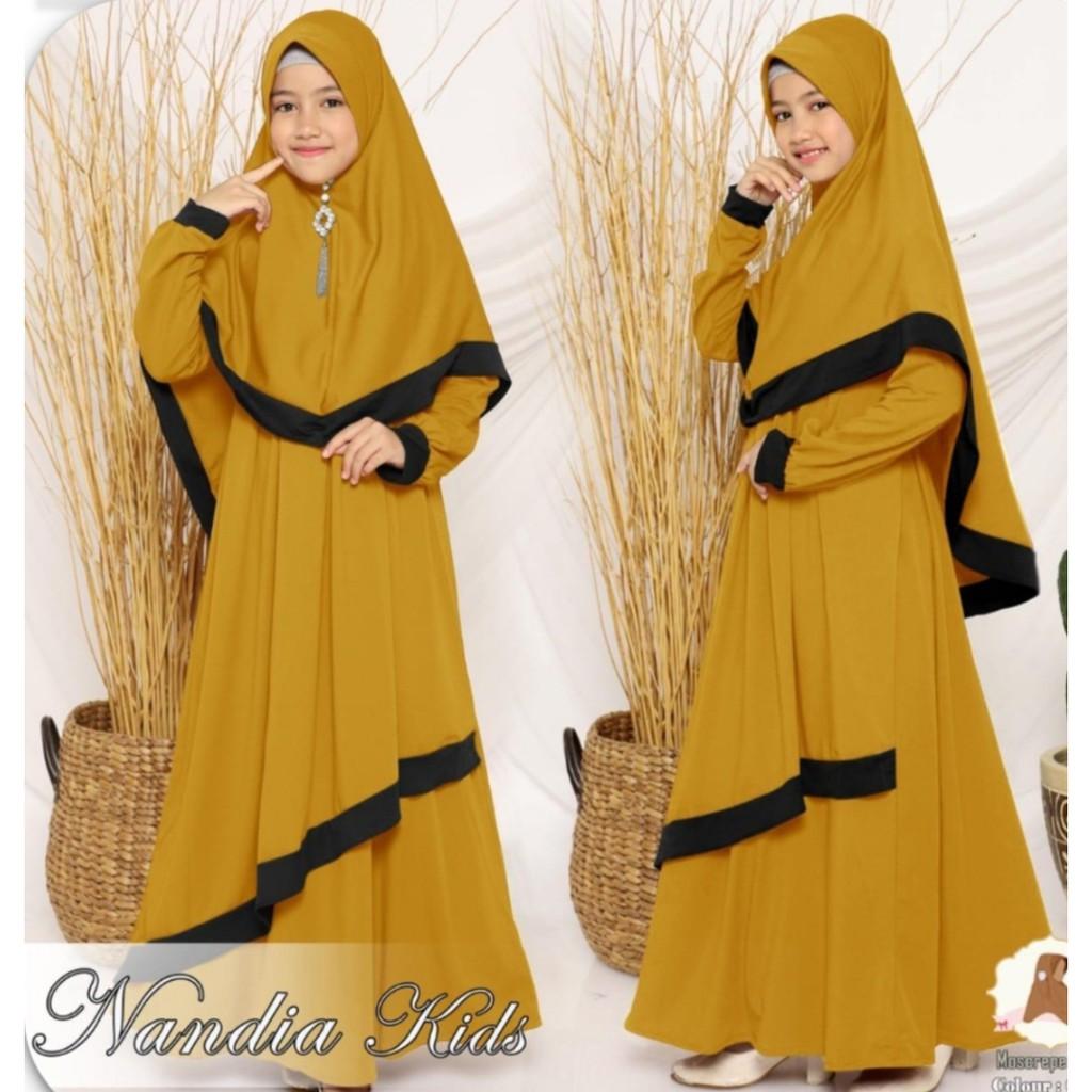 Harga Baju Muslim Anak Perempuan Terbaik Pakaian Muslim Anak Fashion Muslim Maret 2021 Shopee Indonesia