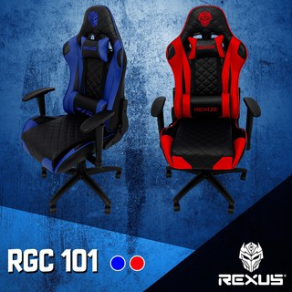 Rexus Gaming Chair / Kursi Gaming RGC 101 Blue | Shopee ...