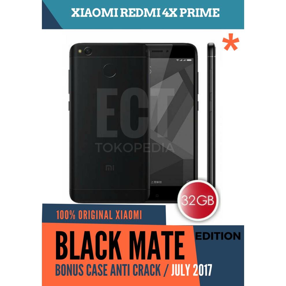 Xiaomi Redmi 4x Prime 3 32gb Black Shopee Indonesia Garansi Resmi Tam 1 Tahun