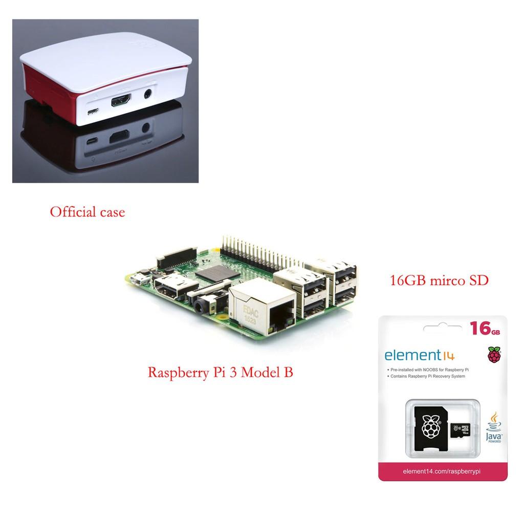 Kit Raspberry Pi 3 Papan Baterai Kotak Kipas Kabel Usb Model B Paket Lengkap Siap Pakai Shopee Indonesia
