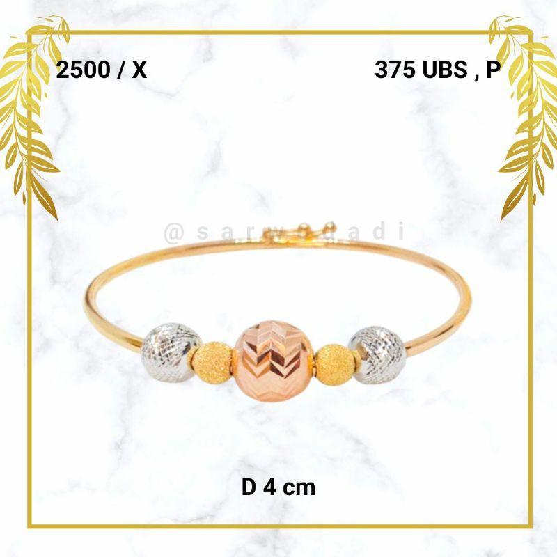 Sarwodadi muda jewelry Gelang emas 2,5Gram