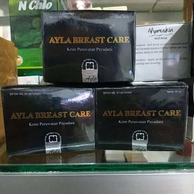 Cream pembesar dan pengencang payudara AYLA BREAST CARE NASA | Shopee Indonesia