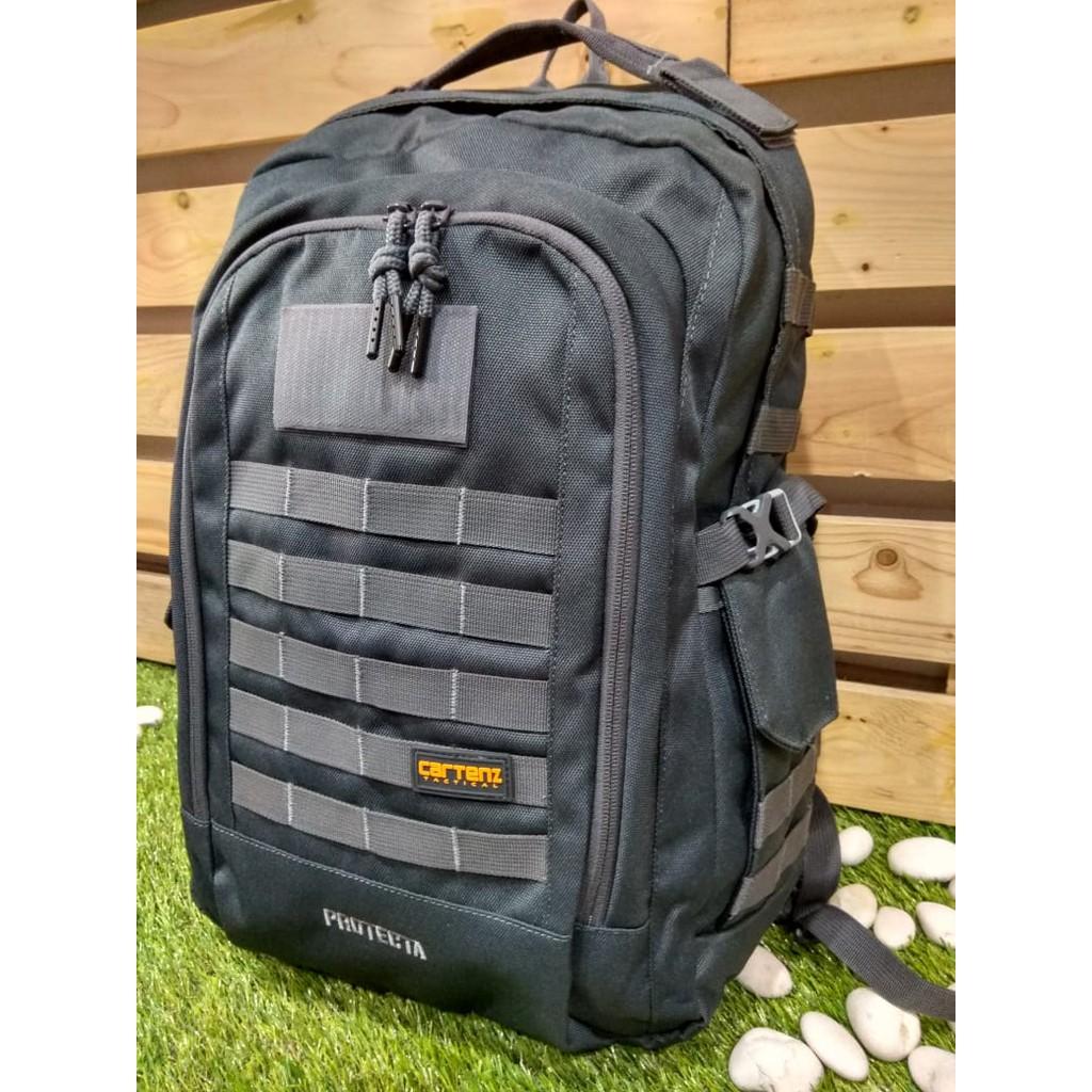 Tas Ransel Kalibre Sideway 02 Shopee Indonesia Aesthetic Daypack Backpack Hitam 910405 000