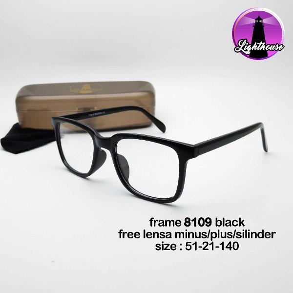 TERMURAH !!! kacamata pria wanita cewe cowo minus plus silinder murah keren  gaya anti radiasi 8109  9438d84acb