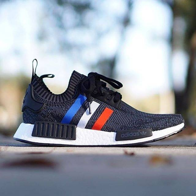 779d0a5cf ADIDAS NMD R1 PK PRIMEKNIT CORE BLACK FRANCE ART BB2952 ORIGINAL ...