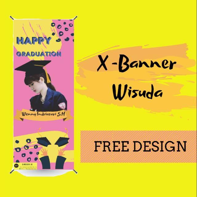 Contoh Banner Buat Wisuda - desain spanduk kreatif