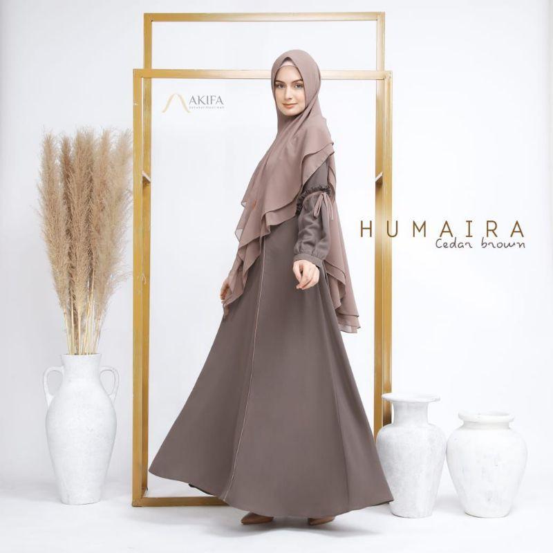 Humaira DRESS exclusive by Akifa ori gamis set