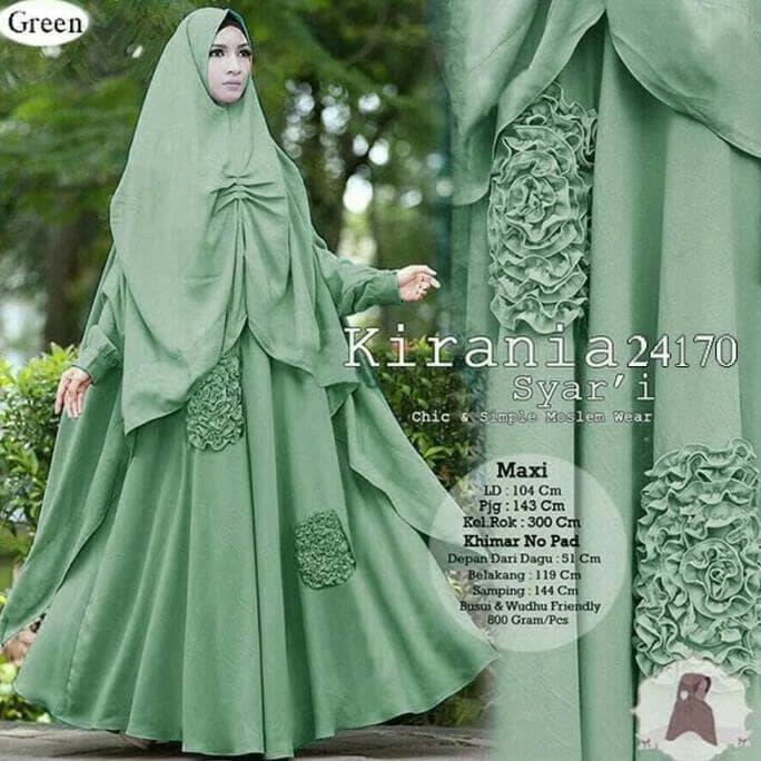 Star Sellerpromo!! Baju Busana Muslim Gamis Yanti Syari Abu Bergo No ... 151cb8856e