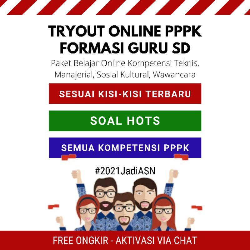 Paket Tryout Online PPPK Formasi Guru SD