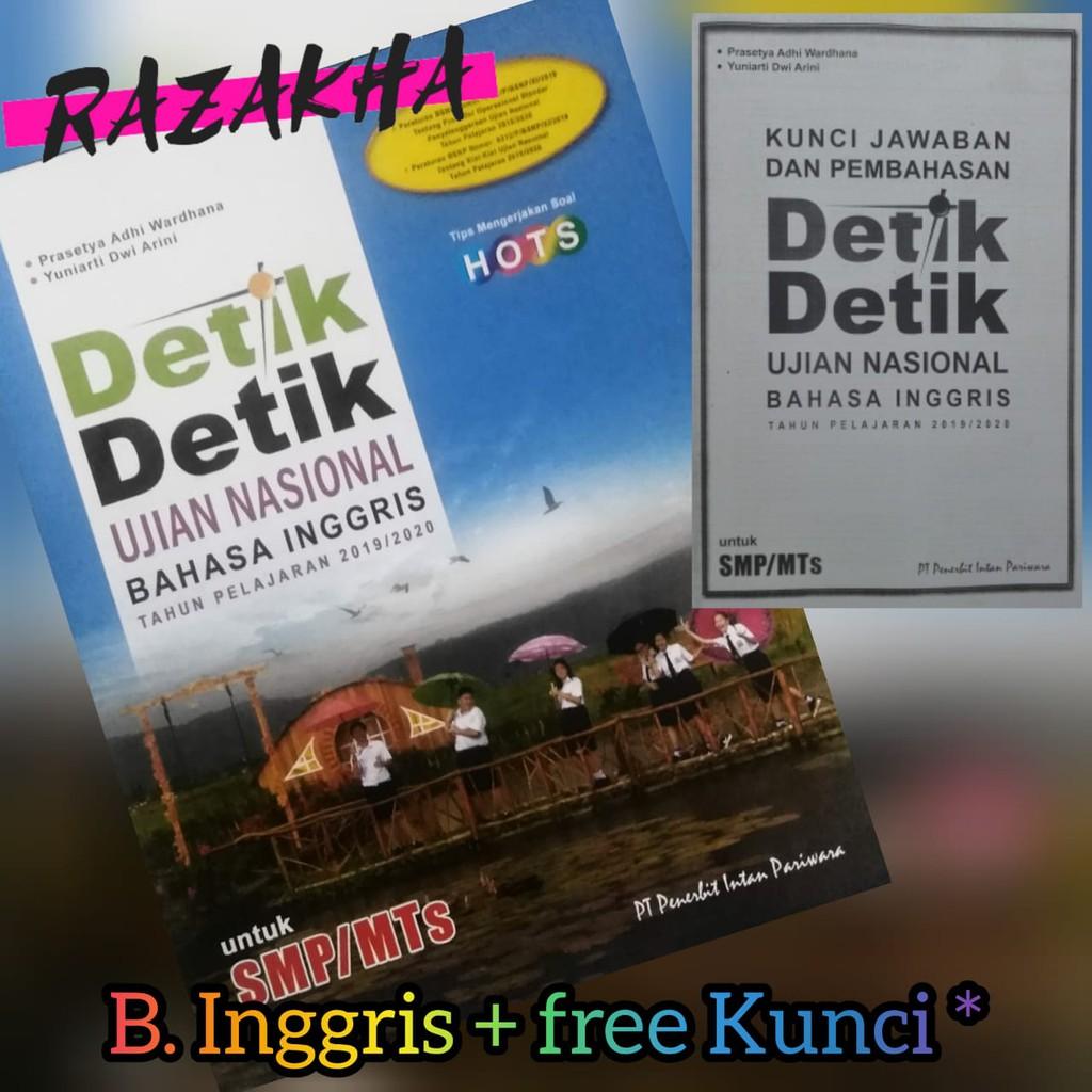 Eceran Detik Detik Un Smp Mts Inggris 2020 Intan Pariwara Fc Kunci Shopee Indonesia