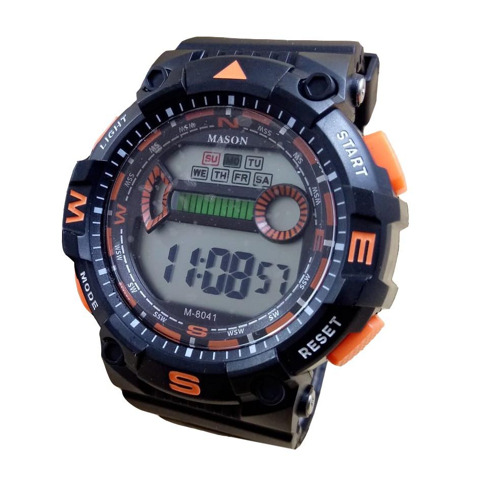 Mason 8041 - Jam Tangan Sport Pria dan Remaja Murah - Anti Air- Digital Mode fd937ca583