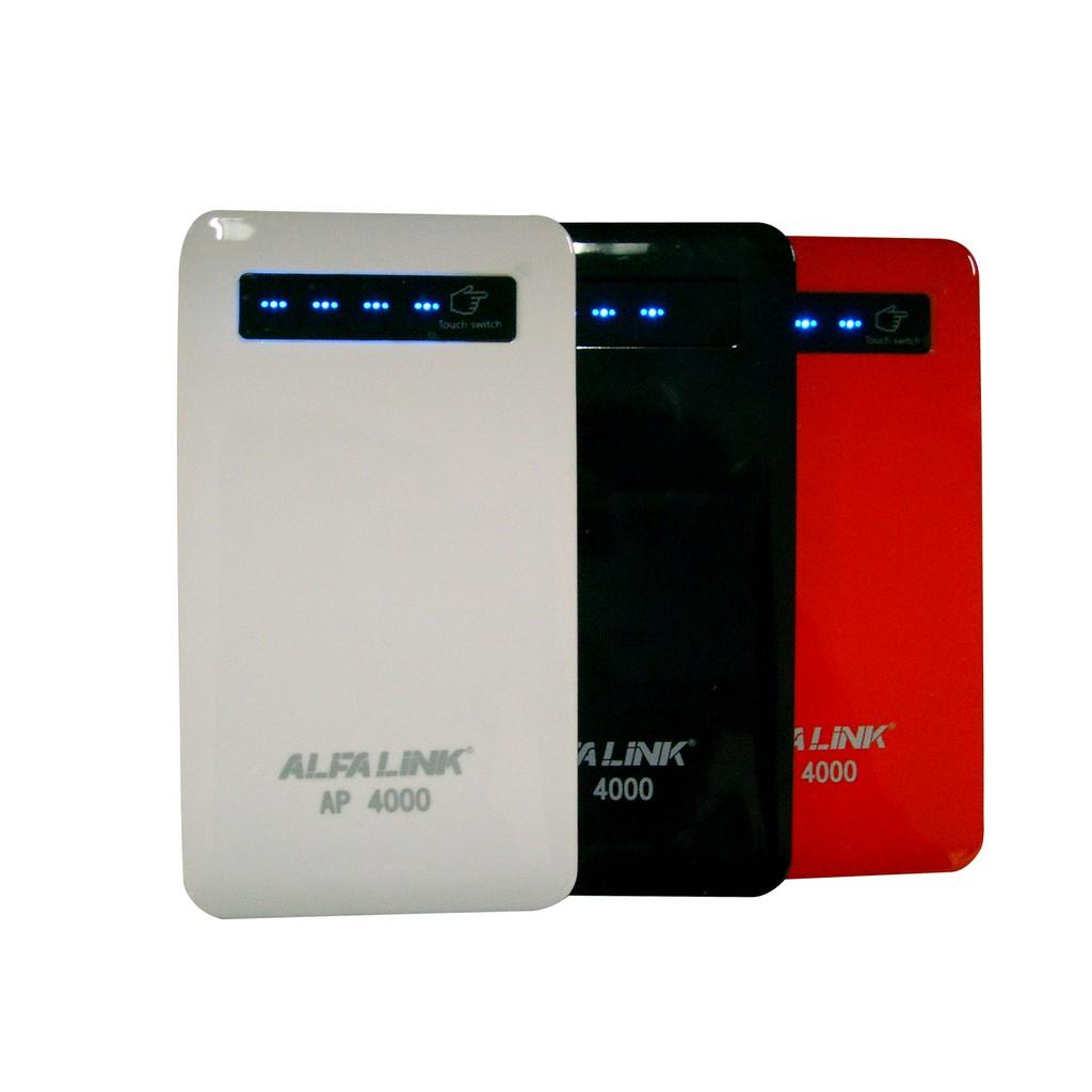 ALFALINK Power bank Ap 4000Q .