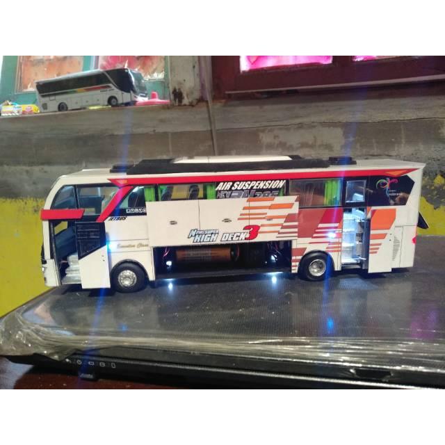 Miniatur Bis Murah Eka Cepat Jetbus 3
