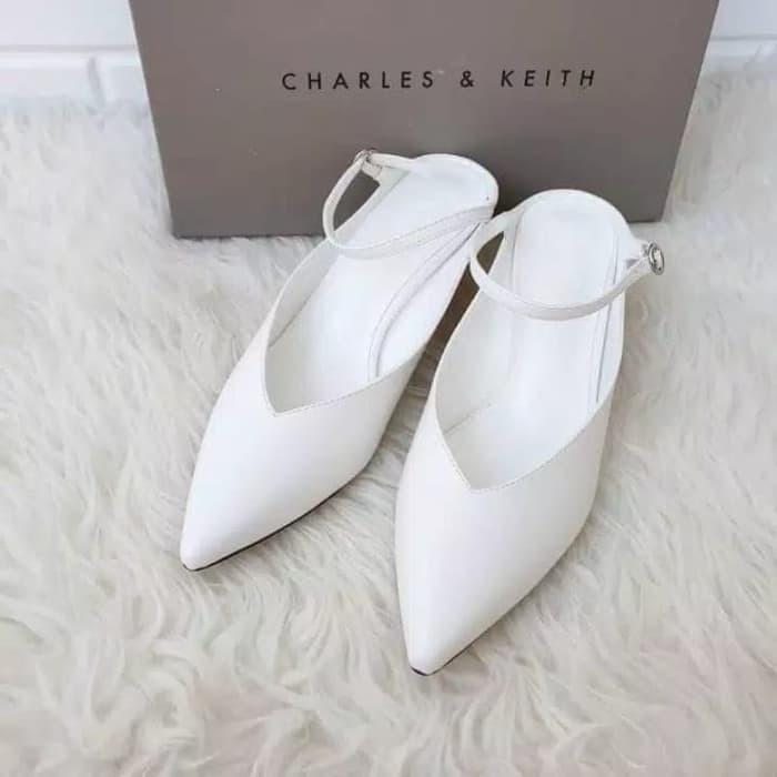 Charles And Keith Cks015 Shoes Original Sepatu Wanita Shopee