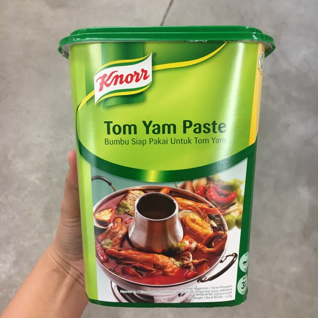 Knorr Tom Yam Paste 1 5kg Bumbu Instan Tom Yam Shopee Indonesia