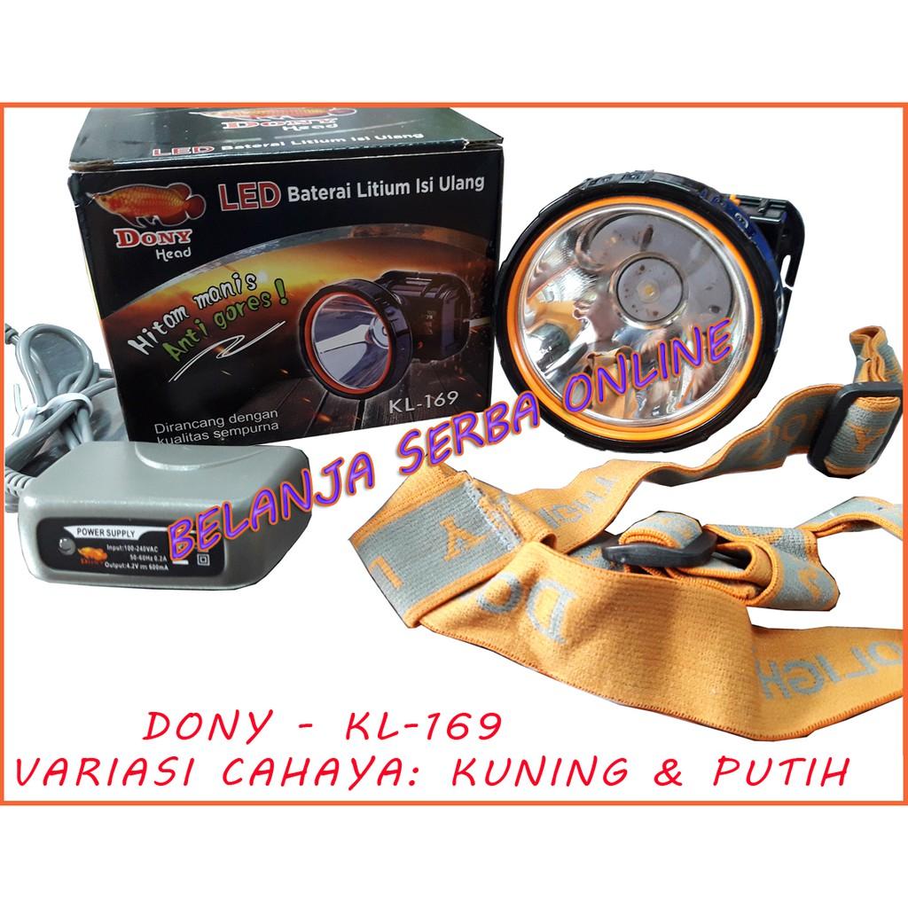 Dony Senter Kepala Kc 169 Shopee Indonesia Kl Hitam Manis Anti Gores