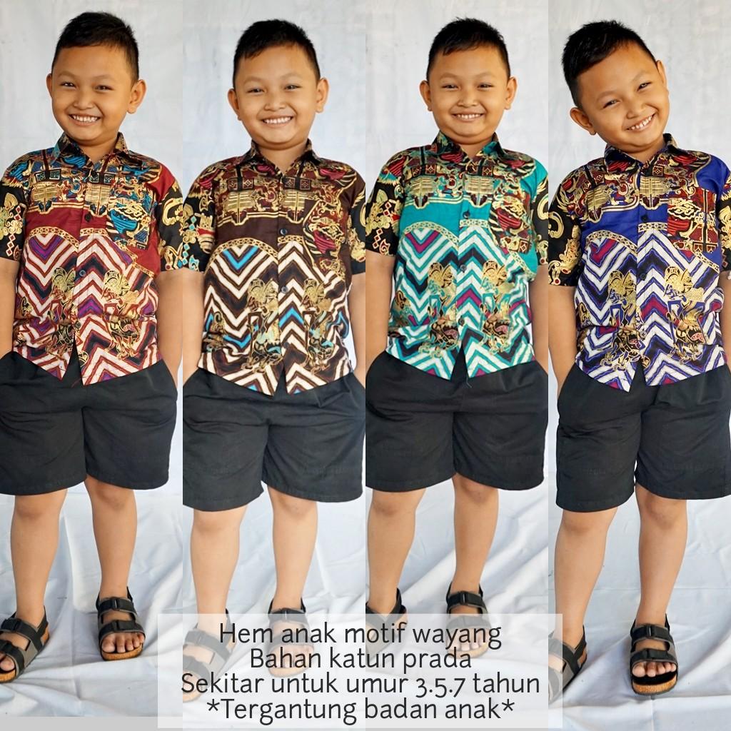 Baju Batik Anak Cowok Terbaru