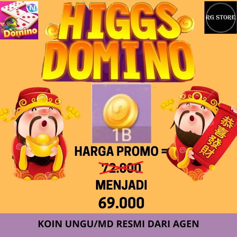TOP UP HIGGS DOMINO MURAH RESMI AGEN CHIPS UNGU CHIP MD - CHIPS HIGGS DOMINO MD/UNGU MURAH