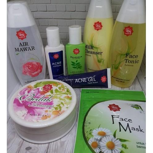 Paket Skin Care untuk kulit Berminyak dan Berjerawat dari