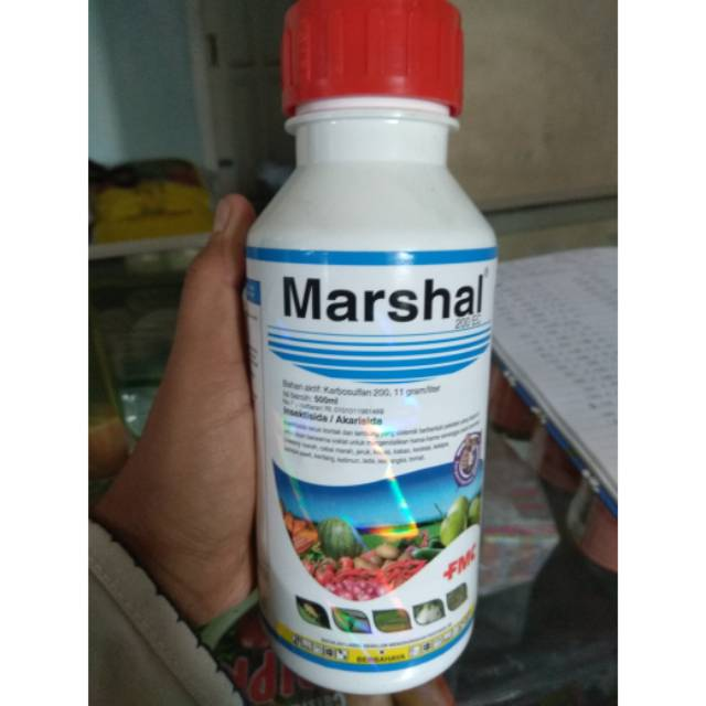 Marshal 200 Ec 500 Ml Insektisida Akarisida Shopee Indonesia
