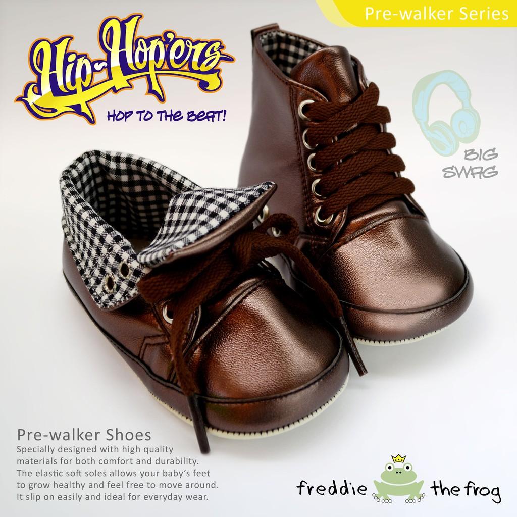 Sepatu Harga Terupdate 1 Jam Lalu Prewalker Bayi Freddie The Frog Tony Braid Black Baby Shoes Big Swag
