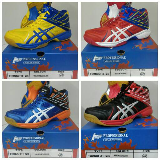 Sepatu Volley   Voli Professional Volley NEW Turbolite Profesional ... a4c9da593d