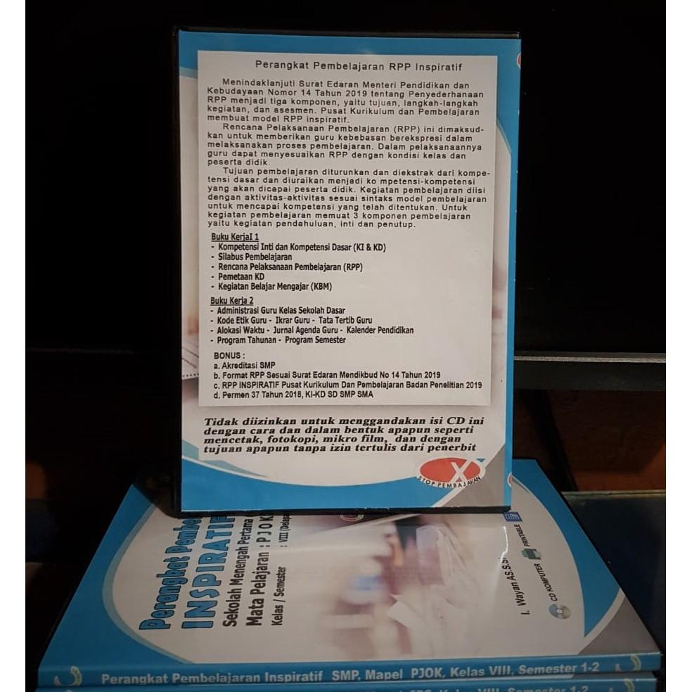 Rpp Inspiratif Rpp 1 Lembar K 13 Revisi 2020 Untuk Mts Mapel Al Qur An Hadistkelas 7 8 9 Shopee Indonesia