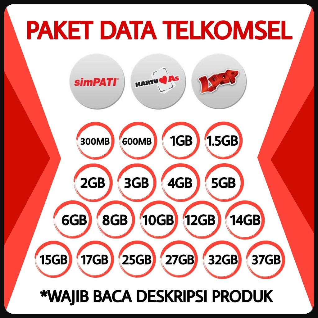 Dapatkan Harga Paket Simpati Diskon Shopee Indonesia Kartu Paketan Telkomsel 9gb