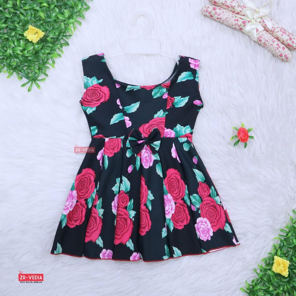 TERBARU BAJU ANAK PEREMPUAN GROW GAUN KATUN SIMPLY BUNGA / DRESS / SIZE 2 THN !!!!   Shopee Indonesia